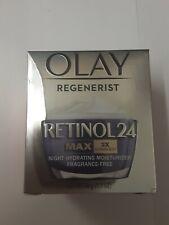 Olay Regenerist Retinol 24 Night Moisturizer Max 2x Vitamin B3 48g/1.7 Oz