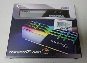 G.SKILL Trident Z Neo Series 128GB (4 x 32GB) 288-Pin DDR4 SDRAM DDR43200
