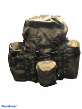 More details for 100 ltr dpm irr bergen genuine army issue side pouches grade 2 long back