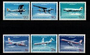 ROMANIA. 50th ANNIVERSARY OF ROMANIAN NATIONAL AIR LINE 1976 MNH