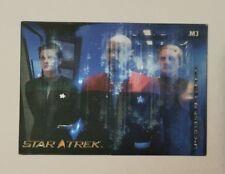 Star Trek 40th Anniversary M3 In Motion Lenticular Insert Card DS9 Sisko Dax Odo