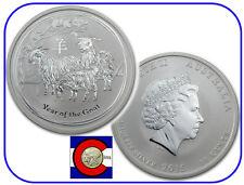 2015 Lunar Goat 1/2 oz Silver, Series 2, Australia, shrink wrap roll of 20 coins