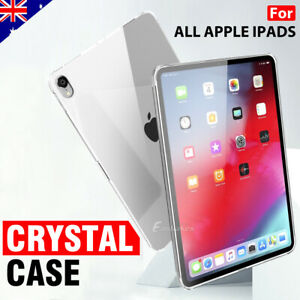For Apple iPad 5th 6th iPad Air 1st 2nd 3rd 4th Clear Soft Silicone Case Cover