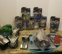 Disney Playmation Marvel Avengers Lot Of 12 Pieces -Some Unused- Original Boxes