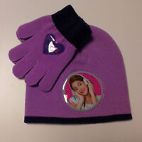 Ensemble Gants et Chapeau Original Violet Violet Disney Love Music Passion