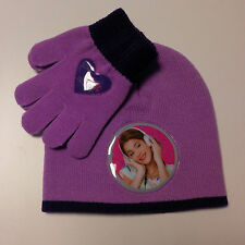 Ensemble Gants e Chapeau Original Violet violet Disney Love Musique Passion