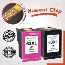 63 XL Black & Color Ink Cartirdge for HP DeskJet 2132 2133 2134 3630 3631 3637