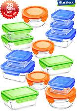 Snaplock Lid Glasslock Storage Container Microwave & Oven Safe in different Set