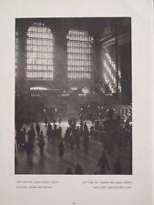 Interior Grand Central Railroad Station New York City 1927 Edward Hoppe Photogra
