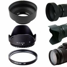 52MM Lens Hoods & UV Filter Lens Protector Kit for NIKON D7000 D5000 D3000 DSLR