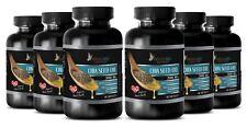 Chia Seeds Oil 1000mg Omega 3-6-9 High Potency Gluten-Free 6 Bottle 360 Capsules