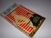 Blind Lust by Al James, Bedside Book #1207, 1961, Vintage Paperback!