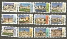 France: full set-12 used stamps French Renaissance Architecture, 2015 Mi#6098-09