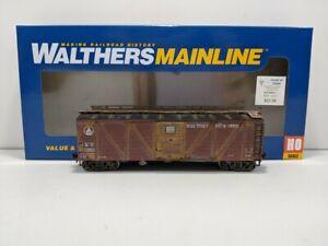 Custom Weathered Walthers 910-40551 HO B&O 40' Single-Sheathed Boxcar #167003