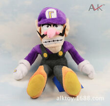 "Super Mario 11"" Plush Toy Waluigi Figure Stuffed Animal Game Figure Soft Doll"