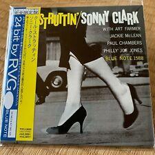 Cool Struttin' by Sonny Clark Japan mini LP paper sleeve CD Obi Blue Note