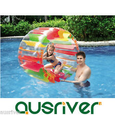 Giant Inflatable Water Wheel Floating Ride On Swimming Pool Toy Summer Beach Kid