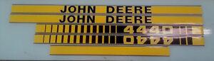 John Deere 4440 Hood Decals