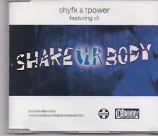 Shyfx&TPower-Shake Ur Body cd maxi single
