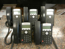 Lot of (5) Polycom IP330 SoundPoint 2201-12330-001 IP phones Large Quantity
