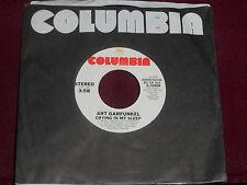 """ART GARFUNKEL """"Crying In My Sleep"""" Columbia 3-10608"""