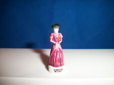 WICKED STEPMOTHER of CINDERELLA Figurine French Porcelain Feves DISNEY VILLAINS