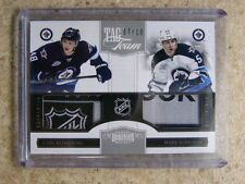 11-12 Panini Dominion Tag Team Dual Patch CARL KLINGBERG / MARK SCHEIFELE /10
