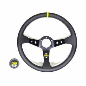 OMP Racing OD1956N Corsica Steering Wheel Black Leather NEW