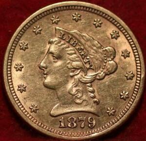 1879 Philadelphia Mint $2.50 Gold Coin