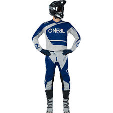 Oneal 2020 ADULT Element Racewear MX Motorbike Jersey and Pants BLUE GREY
