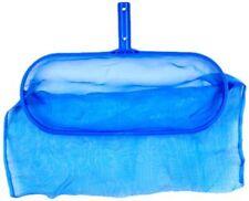 Swimming Pool Spa Leaf Net Skimmer Rake w/Deep Ultra Durable Mesh Debris Bag