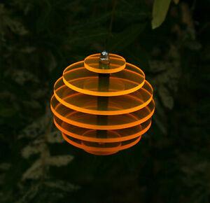 KUGEL Ø7,5cm hängend  Sonnenfänger Sonnenscheiben Suncatcher Leuchtscheibe