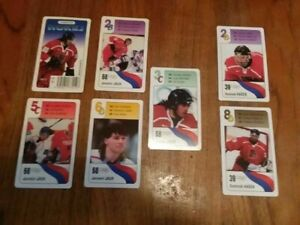 CZECH REPUBLIC hockey cards (set of 33 with Jagr/Hasek/Straka/Lang/Hejduk/Slegr)