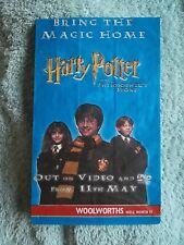 Original Harry Potter Sweetie Bag From Woolworths Double Sided Never Used