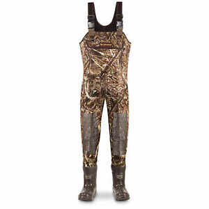 LaCrosse Super Brush Tuff Chest Waders Size 8