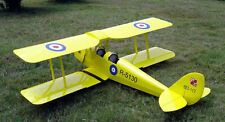 1/4 Scale Gipsy Moth 90 inch  Giant Scale RC AIrplane PDF Plans on a CD