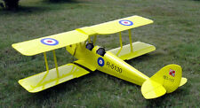 1/4 Scale Gipsy Moth 90 inch  Giant Scale RC AIrplane Printed Plans