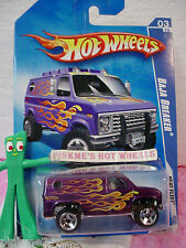 2009 Hot Wheels BAJA BREAKER #119/190~met purple Ford van; or5 ** Heat Fleet