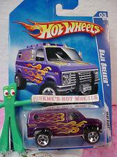 2009 Hot Wheels BAJA BREAKER #119/190~met purple Ford van; or5 ** Heat Fleet