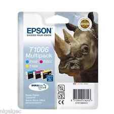 EPSON Set di 4 T1001 T1002 T1003 T1004 T1006 B40F