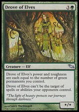 Folla di Elfi - Drove of Elves MTG MAGIC SM Shadowmoor Ita