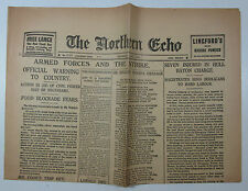 The Northern Echo newspaper Saturday 8 May 1926 - Armed Forces and the Strike