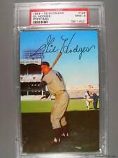 1953-55 Dormand #129 GIL HODGES Postcard PSA Mint 9