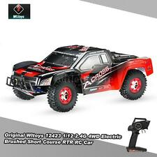 Gift Wltoys 12423 1/12 2.4G 4Wd Electric Brushed Short Course Rtr Rc Car Us Plug