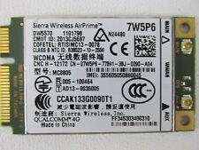 Dell E5440 Sierra 4G WWAN HSPA+ Mobile Broadband, Mini Card, DW5570 D P/N: 7W5P6