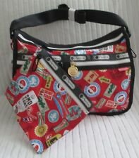 LeSportsac 7507 Deluxe Everyday Bag Ninrendo Mario Travel NWT