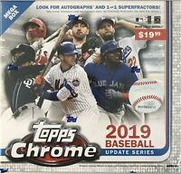 🔥New! 2019 TOPPS CHROME UPDATE Sealed Target MEGA BOX *IN HAND READY TO SHIP*🔥