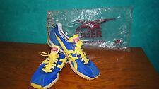 NEW Rare Vintage Blue Yellow Asics Tiger Onitsuka sneakers - Japan, US Size 6.5