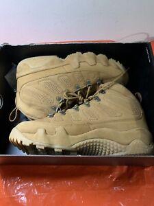 "Nike Air Jordan IX 9 Retro NRG ""Wheat"" AR4491-700 Men's 9 US / Women's 10.5 US"