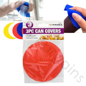RUBBER BOTTLE & JAR OPENER GRIPPER OPENER WITH TIGHT LIDS x 3 ALSO A CAN COVER